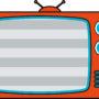 テレビのイラストです