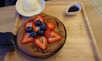パンケーキの写真です